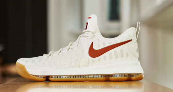Nike will release special 'Texas' version of Kevin Durant's KD9 shoe