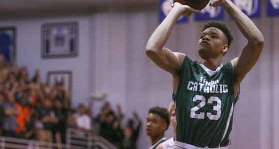 One final high school hurdle for Tampa Catholic's Kevin Knox