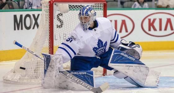 Q&A: Andersen enjoying focus on hockey