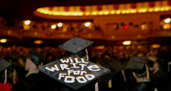 Recent college grads now more likely to have good jobs, opportunity