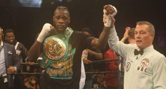 Scorecard: Back from injuries, Wilder shows power in win