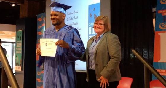 Students of all ages earn high school diploma in new program