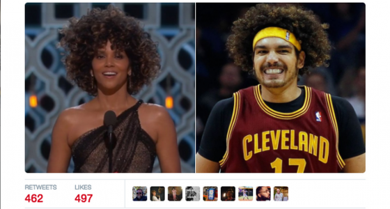 The Oscars mishap most everyone missed: SI deletes tweet about Halle Berry's hair
