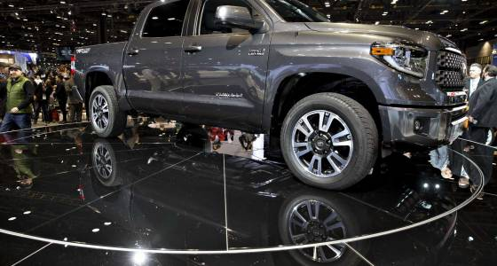 Toyota full-size Tundra sales drop by nearly 13 percent