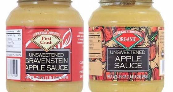 Traders Joe's applesauce recalled over pieces of glass