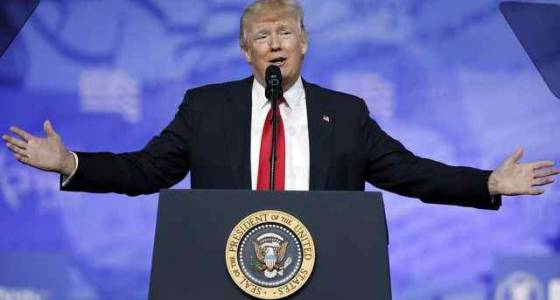 Trump takes aim at anonymous media sources