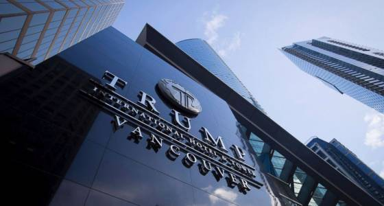 Trump tower opens in Vancouver but the welcome isn't warm