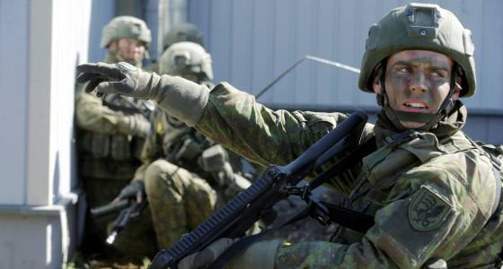War In Europe: Estonia Prepares For Russian Invasion By Building Barracks And Expanded Training Ranges For NATO Troops