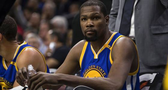 Warriors' Durant out weeks with leg injury