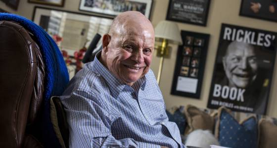 Watch Don Rickles in action as he lobs zingers at his friends and admirers