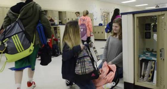 Why school lockers are going the way of rotary phones and vinyl records