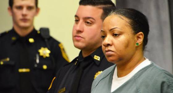 Woman charged with executing ex-boyfriend takes plea deal before start of trial