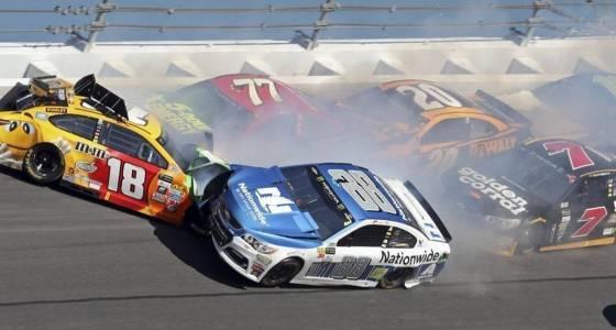 Wreck in Daytona 500 spoils Dale Earnhardt Jr.'s return to NASCAR