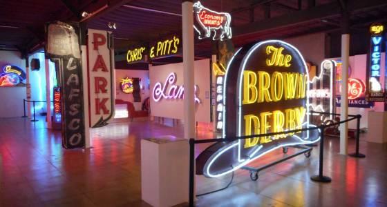 Trevor's Travels: An enlightening visit to the Museum of Neon Art