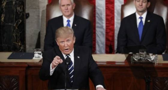 Trump addresses Congress; Kansas slaying treated as hate crime; 2 shot during speech in France: A.M. News Links