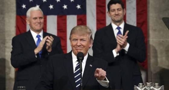 Trump heralds 'American greatness' in speech to Congress