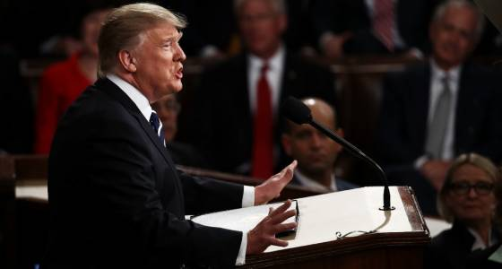 Trump in first speech to Congress: 'Time to join forces' to fix our problems