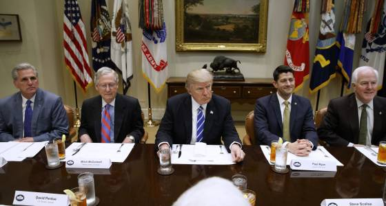 Trump speech leaves GOP encouraged, but still divided on health care, taxes