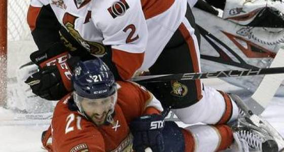 Turris, Anderson lead Senators to 2-1 win over Panthers