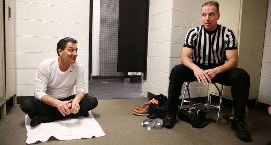 Two days embedded with a Big Ten officiating crew: These guys love their job