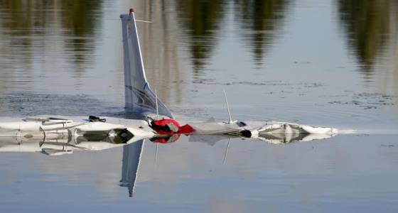 Two people pulled from wreckage of plane that crashed into Culver Reservoir in Larimer County