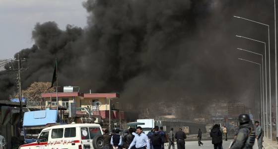 Two Taliban bombings in Kabul come after U.S. kills senior militant commander