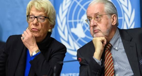 UN panel alleges Aleppo war crimes Syria talks inch forward