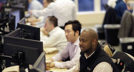 US stock indexes waver in afternoon trading; oil rises