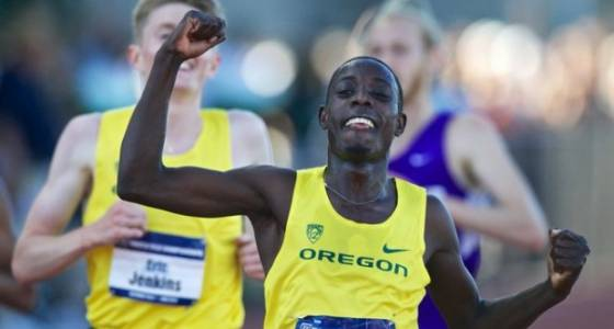 USTFCCCA honors Oregon Duck distance runner Edward Cheserek as an athlete of the week