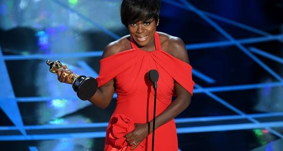 Viola Davis' Tearful Oscars Speech Credits Actors For Celebrating 'What It Means To Live A Life'
