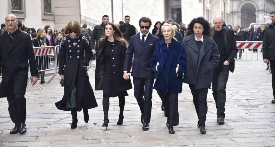 Vogue Italia editor Franca Sozzani's mass draws designers, fashion executives