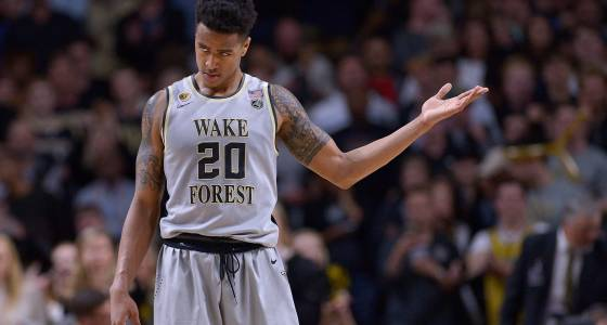Wake Forest upsets No. 8 Louisville 88-81