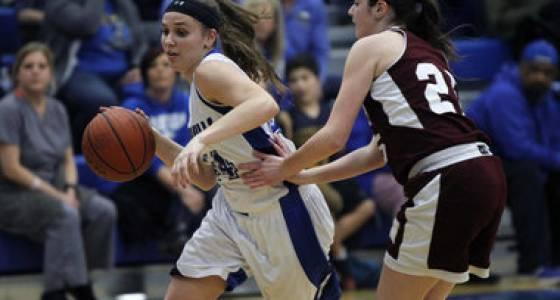 Warren Hills girls basketball rides 2nd-half eruption to state tourney win