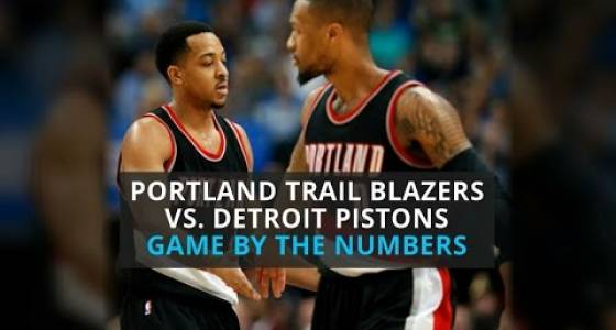 Watch: Detroit Pistons edge Portland Trail Blazers in overtime, game by the numbers