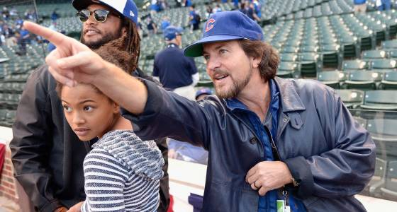 Watch Eddie Vedder's Cubs fandom celebrated in Spirit Awards spoof