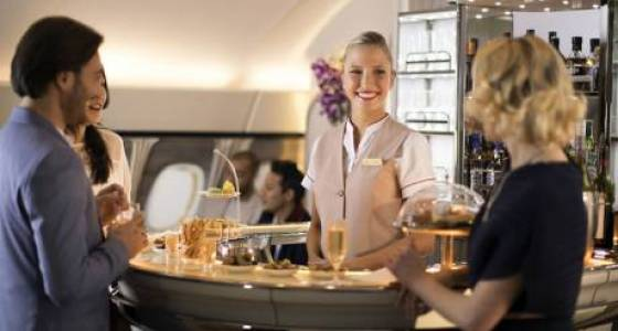 Watch: Emirates' new  bar in the sky