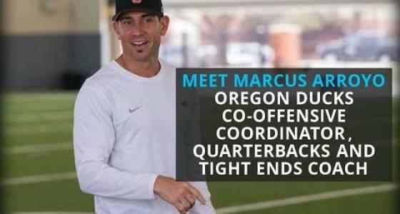 Watch: Meet Marcus Arroyo, Oregon Ducks new co-offensive coordinator
