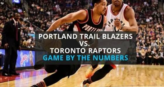 Watch: Portland Trail Blazers fall 112-106 to Toronto Raptors, game by the numbers