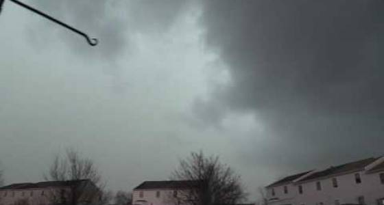 WATCH: Time-lapse video of a February thunderstorm