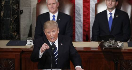 What did you think of President Trump's first address to Congress?