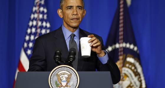 What Is Barack Obama Doing Now? Former President Greeted By Cheering Crowd At NYC Starbucks