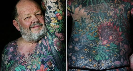 What your tattoos will look like in 50 years