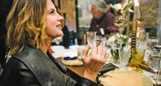 Why more people are signing up for this swanky marijuana dinner party