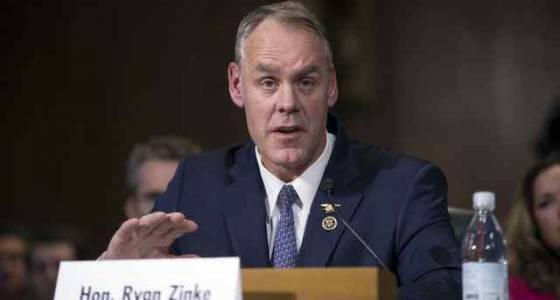Zinke heads toward confirmation as Interior secretary