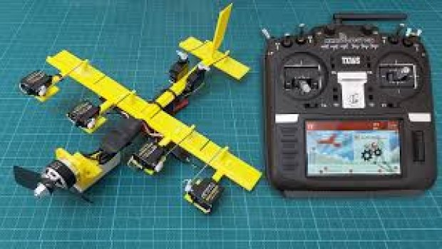 How-to Setup an RC Model Airplane With Radiomaster TX16S For Beginners